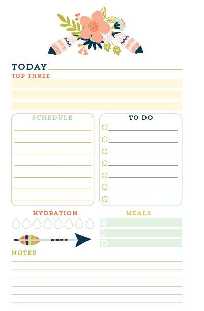 free printable day planner inserts 17 best ideas about daily planners on pinterest day