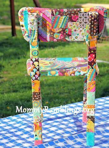 Decoupage Chair Ideas - 25 best decoupage chair ideas on