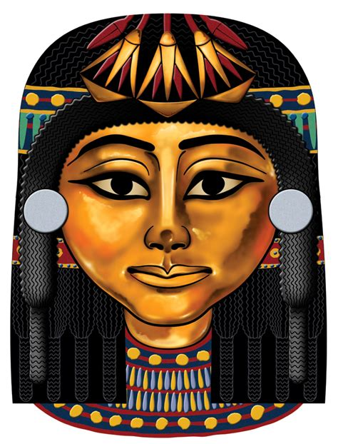 egyptian mask 2 by spr0ket on deviantart