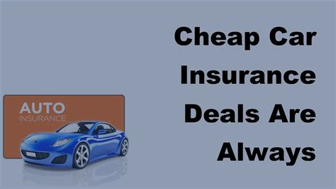 Cheap Car Insurance 2017 by Cheap Car Insurance Deals Are Always Available 2017 Auto