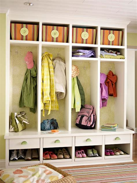 Mudroom Storage Ideas | best ideas for entryway storage