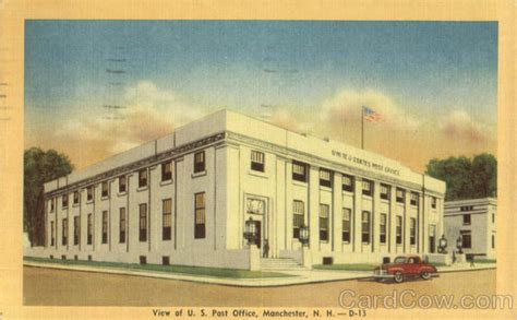 Hton Nh Post Office by View Of U S Post Office Manchester Nh