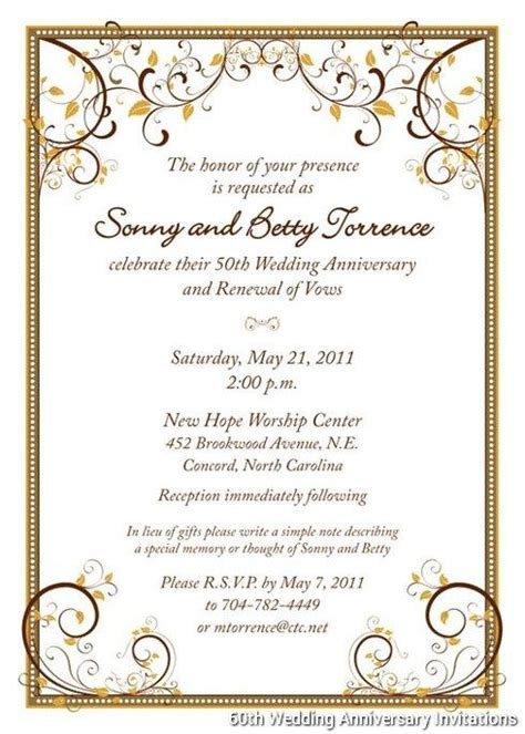 60th wedding anniversary card templates free 60th wedding anniversary invitations templates pinteres