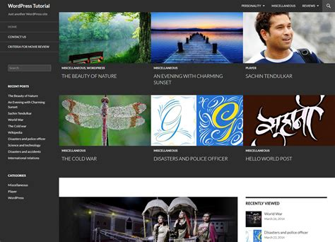 tutorial wordpress twenty fourteen set featured content to grid or slider in twenty fourteen