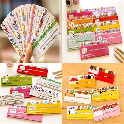post it craft paper aliexpress buy 24 styles diy scrapbooking crafts