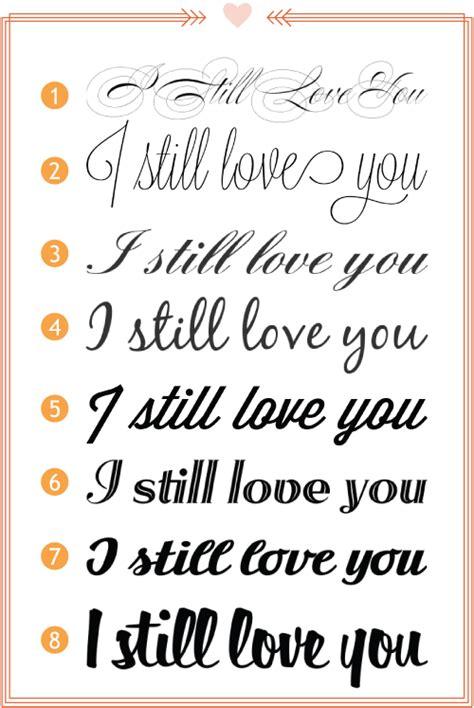 Script Fonts I Still You By Esplin