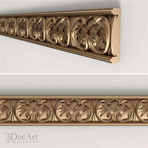9 Moulding 3d 3d model decorative molding