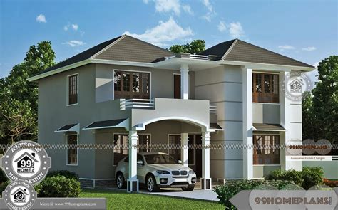 best double storey house designs modern double storey house designs with best 2 story home elevations