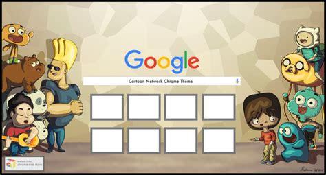 chrome themes cartoons cartoon network google chrome theme by instacore on deviantart