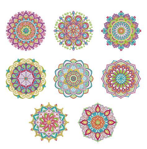 mandala embroidery patterns mandalas pattern coloring marvelous mandalas set 2