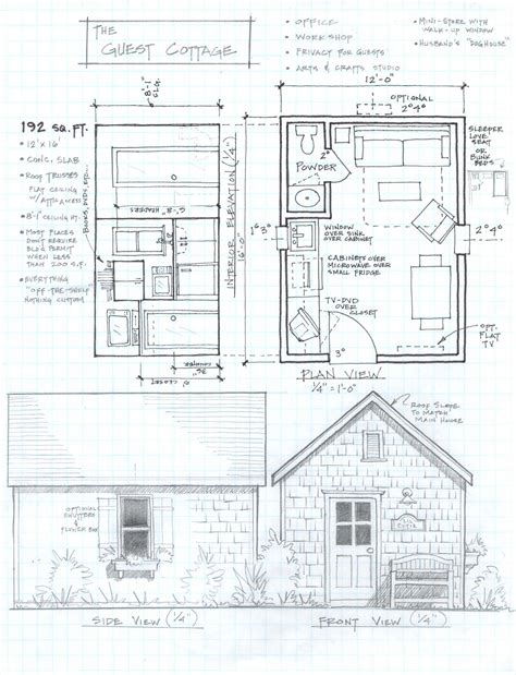 free micro house plans free home plans small cabin house plans