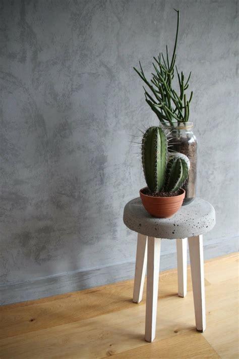 wohnaccessoires ideen beton deko kreative und praktische wohnaccessoires