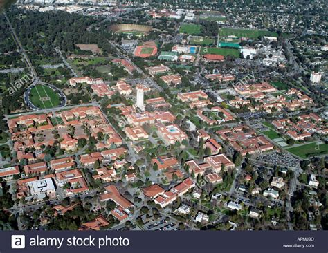 Stanford Silicon Valley Mba by Aerial View Above Stanford Cus Palo Alto