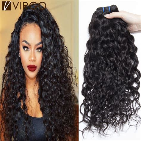 and wavy human hair brazilian human hair wet and wavy weave view brazilian