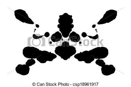 test immagini psicologia rorschach test royalty free stock illustration csp18961917