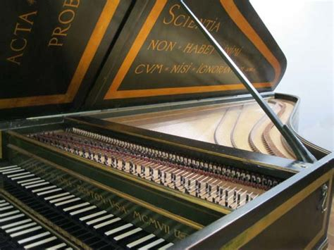 Harpsichord D 233 Finition What Is