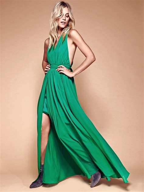 Radeva Dress what to wear green splash