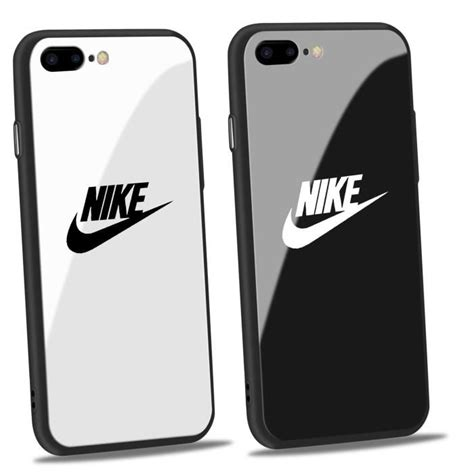 Coque Iphone Nike by 2pcs Nike Coque Iphone 7 8 Plus Verre Coque Hedgehog Coque Noir Et Blanc Achat Coque