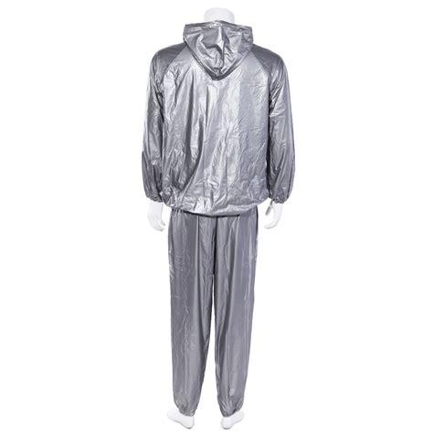 Sweat Suit Sauna fitness exercise sauna sweat suit hoodie heavy duty weight