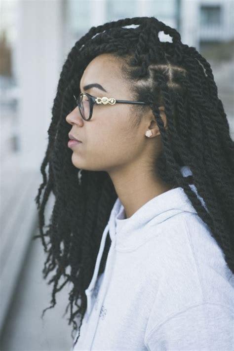 Twist Braids Hairstyles For Black Hair by Best 25 Marley Twists Ideas On Marley Hair