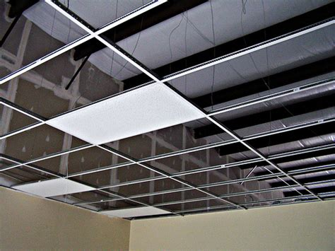 Suspended Ceiling Tiles Installation by How To Install A Suspended Ceiling How To Build A House