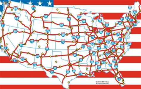map usa with highways usa map freeways let s explore all us map usa maps