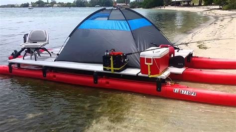 tritoon boats on craigslist 21 ft x 8ft wide pontoon that fits in a pick up visit