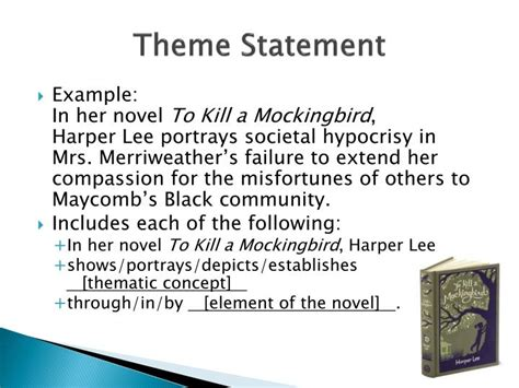 sle themes in literature ppt theme statements vs topics 28 images ideas