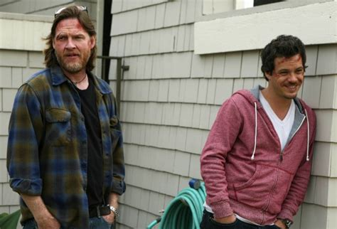 michael raymond james terriers donal logue and michael raymond james interview terriers