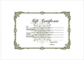 gift certificate log template free gift certificate template and tracking log html