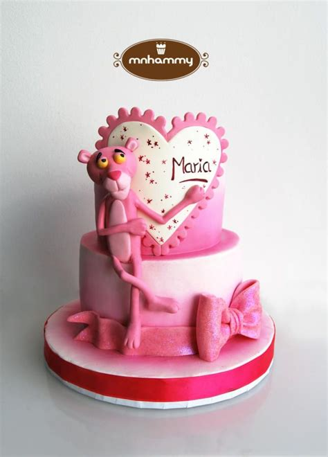 D 010 Diony Pink pink panther cake by mnhammy by sofia salvador cakes pink panthers cake and