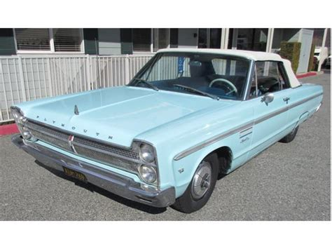 sport plymouth 1965 plymouth sport fury for sale classiccars cc
