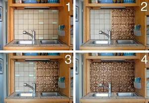 diy peel and stick backsplash tiles ideas