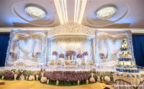 decorative lighting jakarta the wedding stage for and fefe at raffles jakarta