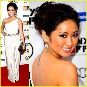 brenda song tattoo brenda song is a social butterfly andrew garfield