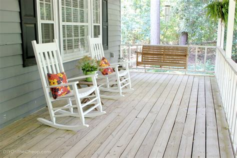 Chairs For Front Porch by Diy On The Cheap Welcome To Our Home Part 1