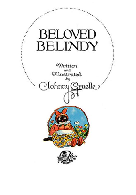 beloved belindy written and illustrated by johnny gruelle