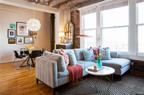 Loft Style Living Room Ideas by