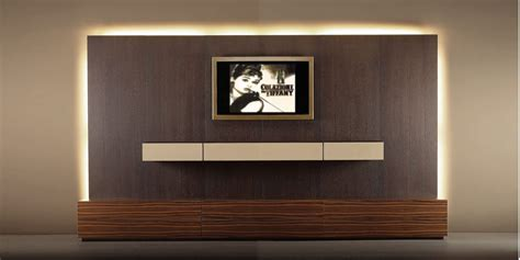 wall tv contemporary tv wall unit wood with wooden cabinet