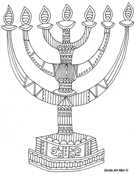 coloring pages for hanukkah 8 of the best most artful hanukkah coloring pages