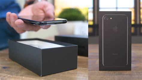 iphone  unboxing jet black youtube