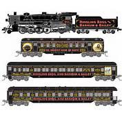 Micro Trains N Scale Train Set  RB&ampBB Excursion