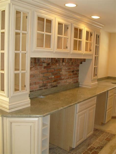 wall to wall kitchen cabinets downeast kitchen design brick pavers for back splash with