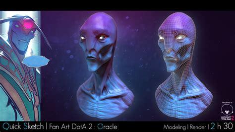 tutorial oracle dota 2 artstation quick sketch oracle dota 2 fan art remy freuchet