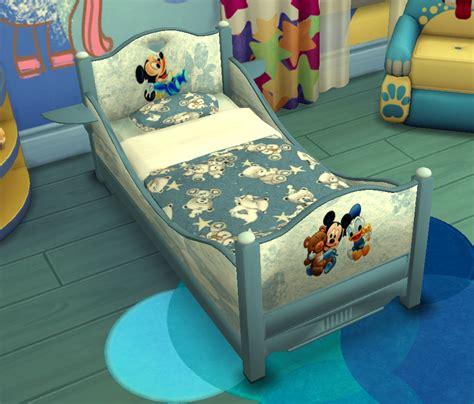 sims  custom content  classic toddler bed sanjana sims studio
