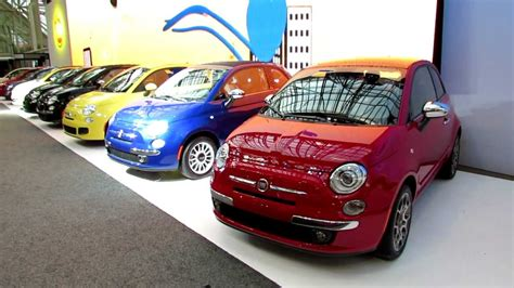 in color line up 2012 fiat 500 colour line up at 2012 toronto auto show