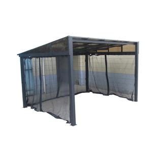 add a room gazebo grand resort 10 x 12 hardtop gazebo with mosquito net sears