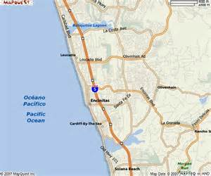 encinitas california map encinitas california