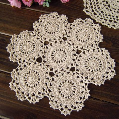 Two Floor Bed by Crochet Doily