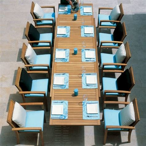 teak patio table and chairs teak outdoor extension dining table and chairs modern